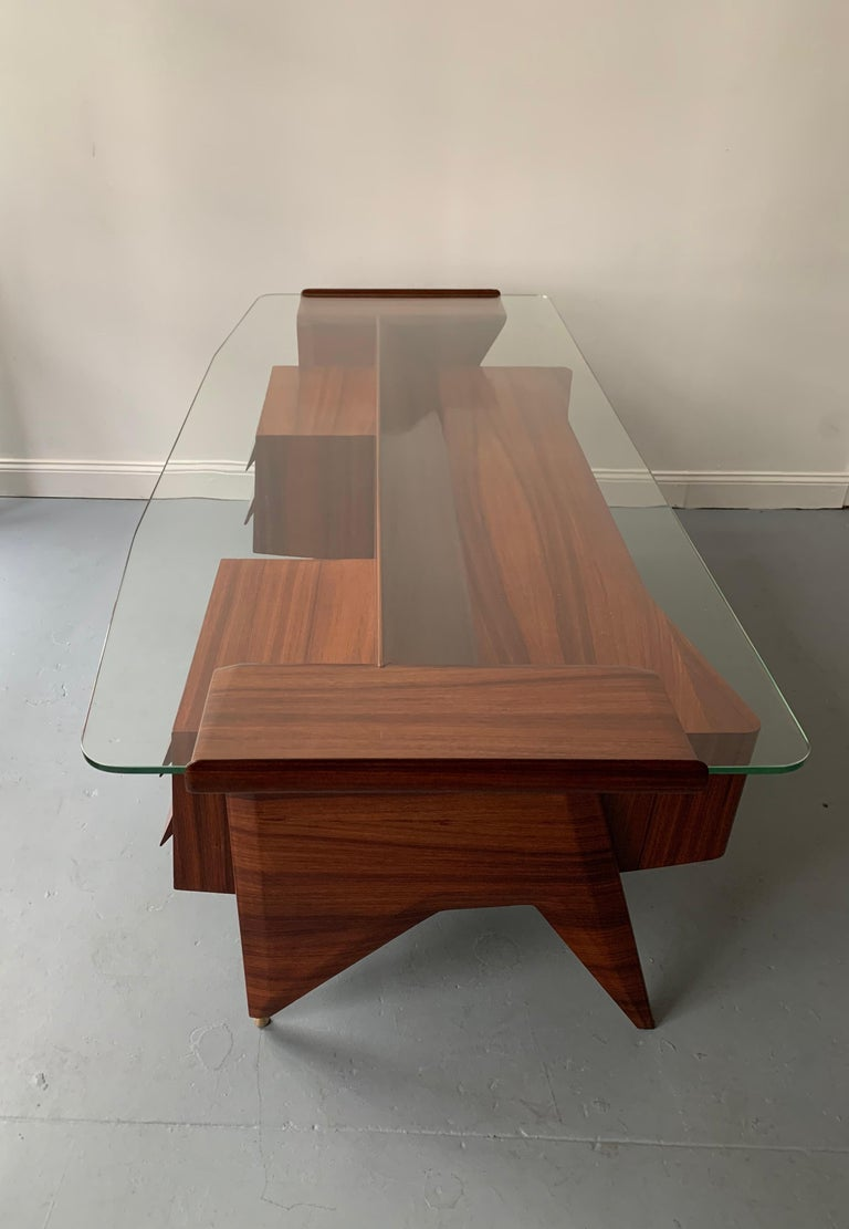 Modern Important Desk by Gio Ponti For Sale