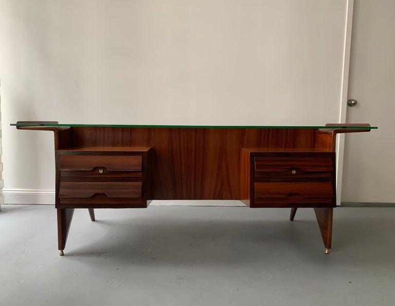 Italian Important Desk by Gio Ponti For Sale