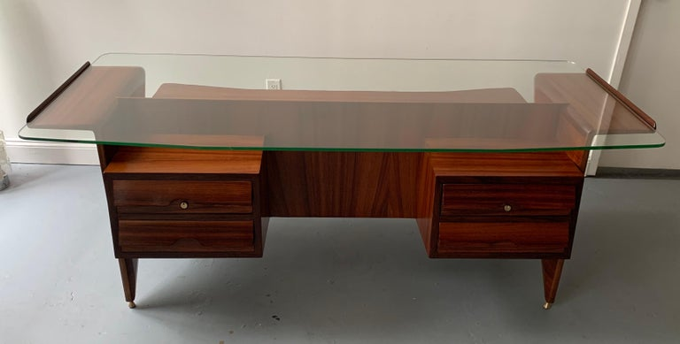 Mid-20th Century Important Desk by Gio Ponti For Sale