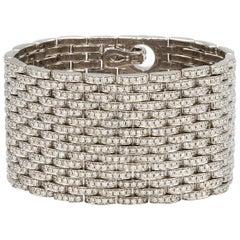 Important Diamond Bracelet 1445 Diamonds 24.5 Carat