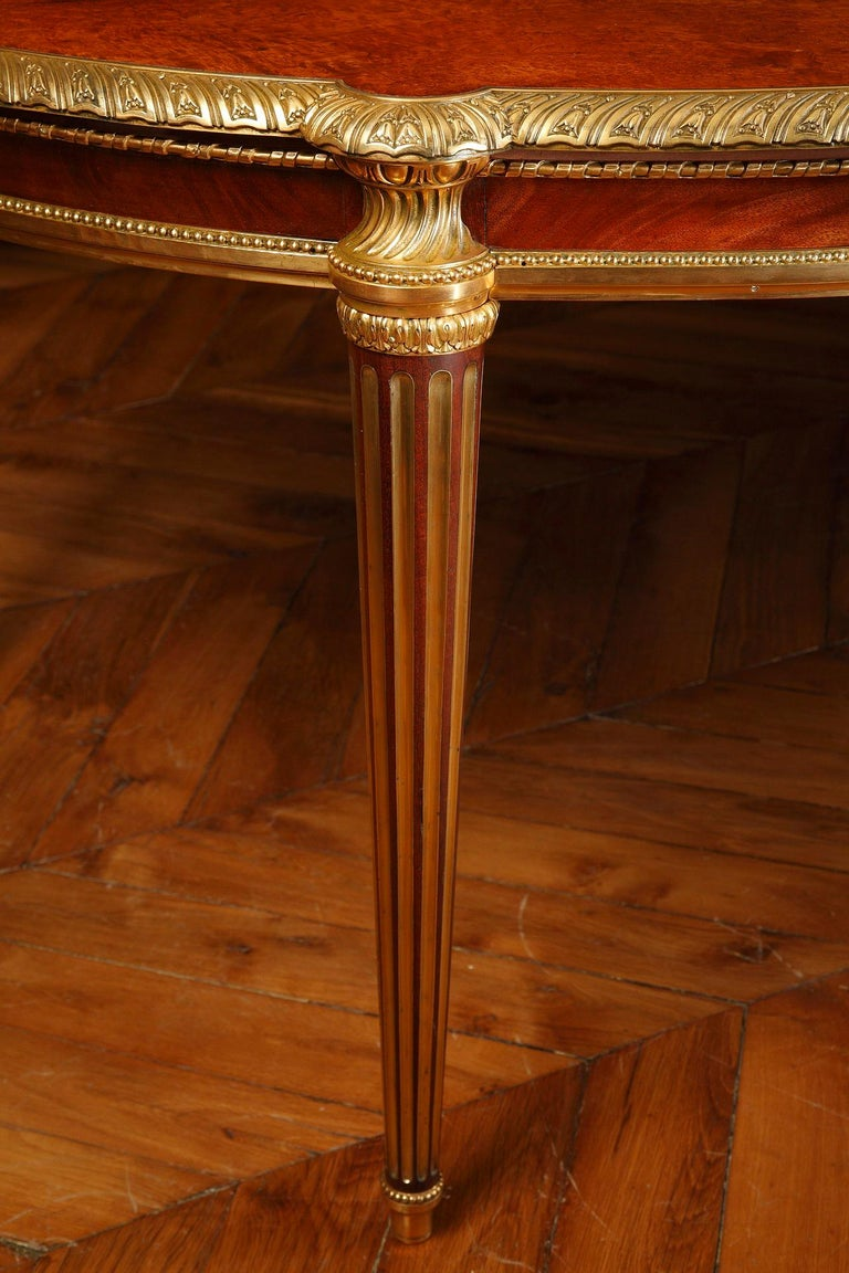 French Important Dining Room Set by Mercier Frères For Sale