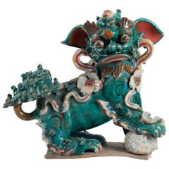 Important Dog De Fô, 19th or Early 20th Century, Asia, Interior Decoration