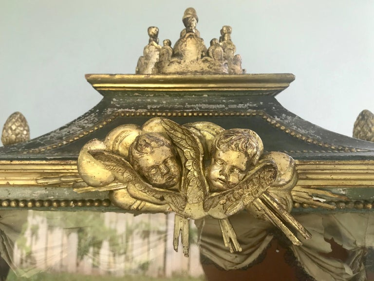 Important Early 18th Century Italian Baroque Reliquary Casket For Sale 8
