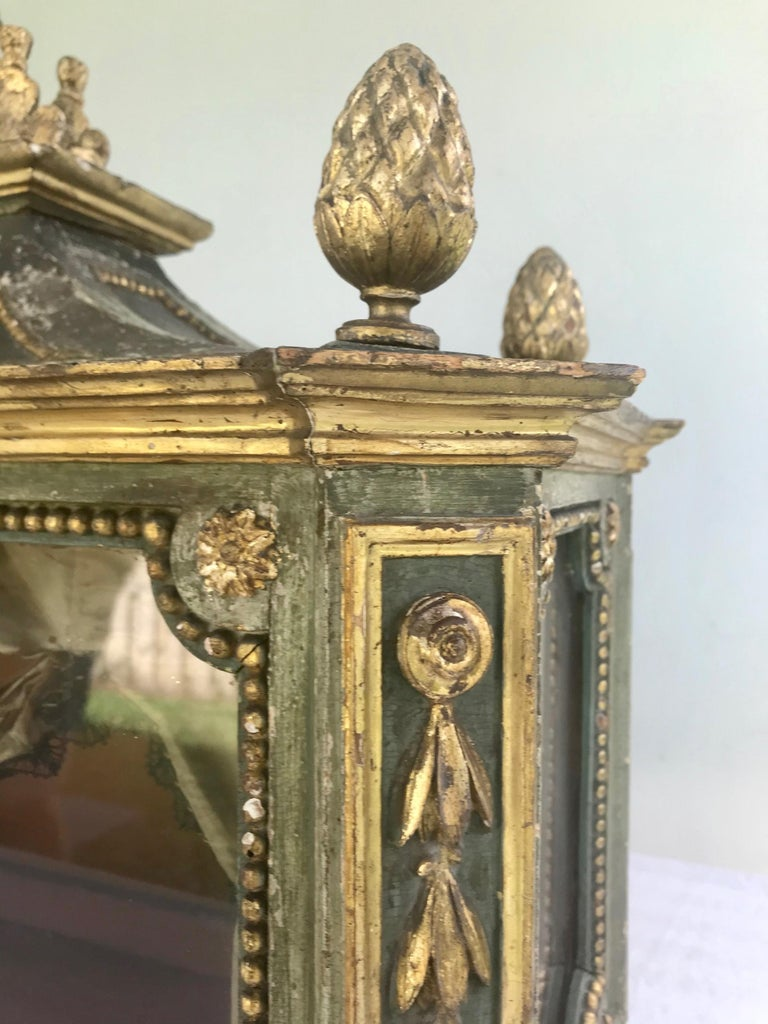 Important Early 18th Century Italian Baroque Reliquary Casket For Sale 9