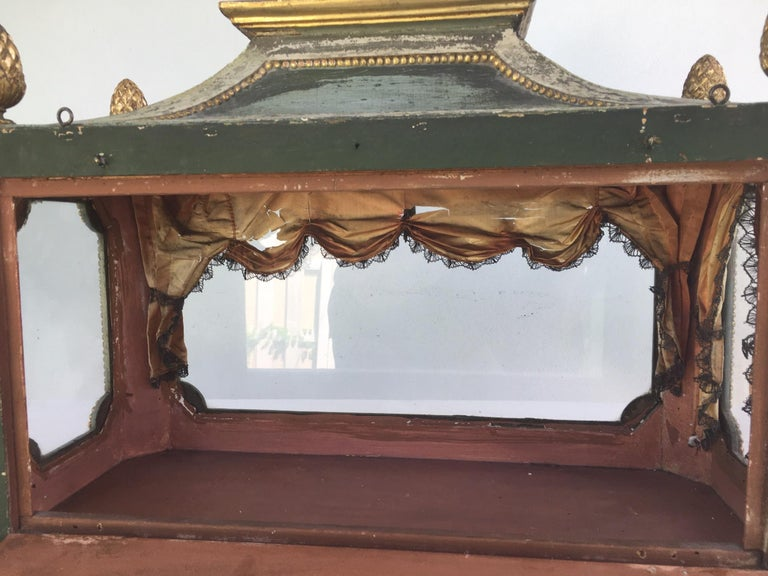 Important Early 18th Century Italian Baroque Reliquary Casket For Sale 1