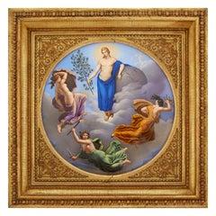 Important Early 19th Century KPM Porcelain Plaque of Royal Provenance