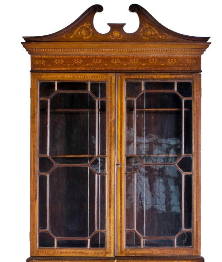 Victorian Important English Secretary, 19th Century For Sale