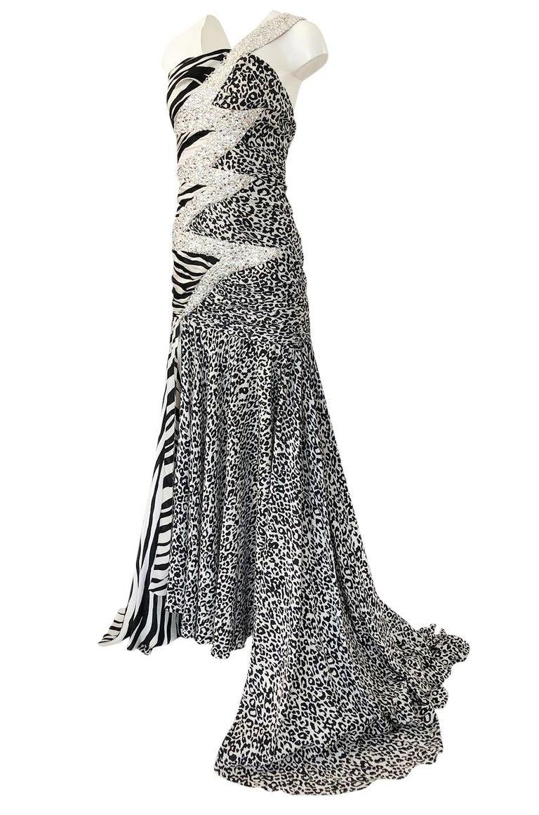 Women's Important F/W 2008 Balmain by Christophe Decarnin Runway Finale Dress For Sale