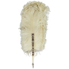 Important Feather Fan, by Giuliano