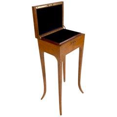 Important French Art Deco Jewelry Box on Legs, circa 1930s