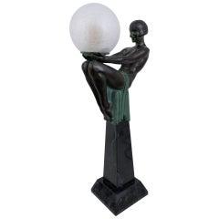 Important French Art Deco Sculpture, Enigme, Original Max Le Verrier