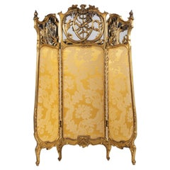 Important French Room Divider, 19th Century