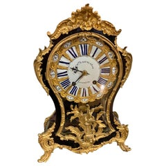 Important French Table Clock, circa 1760, 18th Century