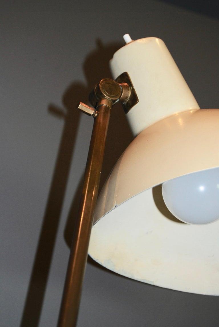 Italian Vittoriano Vigano Important  Floor Lamp, model 1049 , ca 1951  For Sale