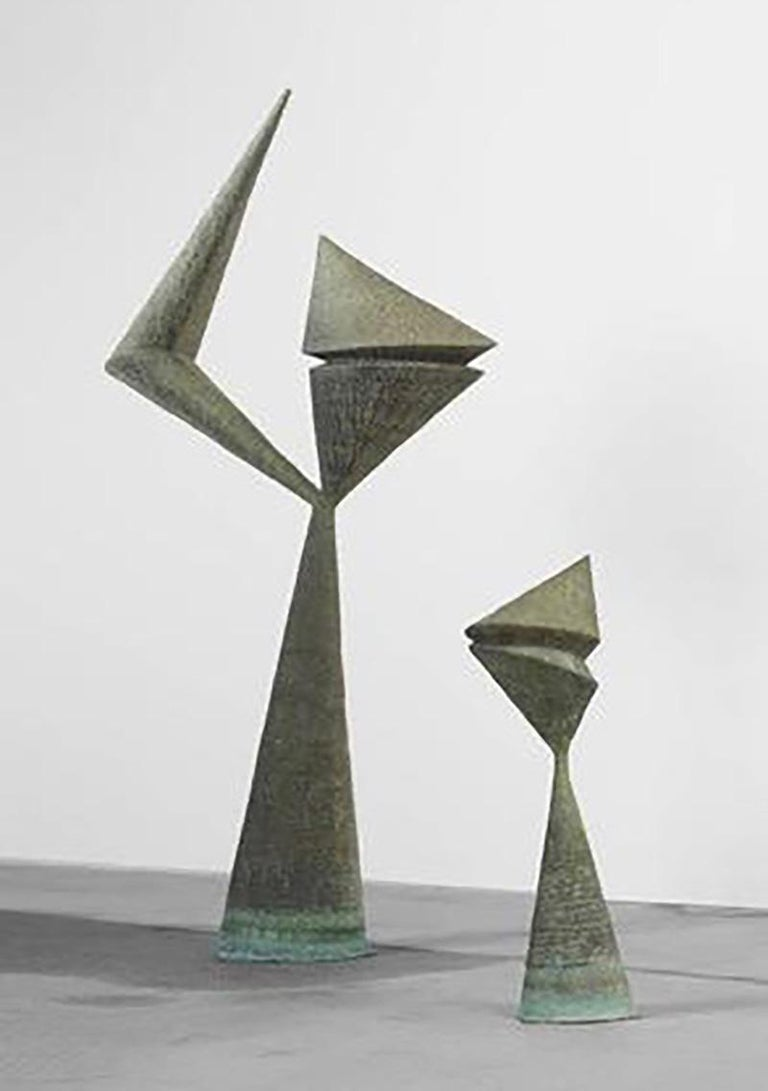Harry Bertoia Sculptures from Stemmons Towers Sculpture Garden, Dallas 1964 In Excellent Condition In New York, NY