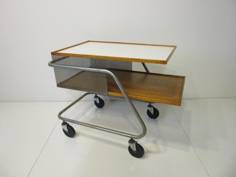 Important Industrial Styled Bar Cart by Franziska & James Hosken For Sale 1
