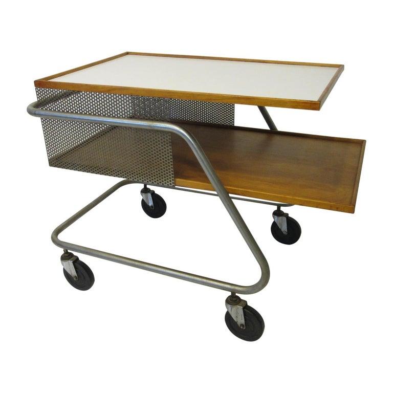 Important Industrial Styled Bar Cart by Franziska & James Hosken For Sale