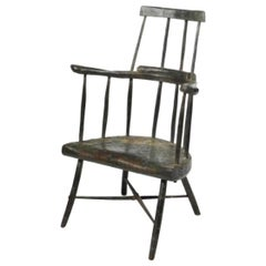 Important Irish Fireside Chair