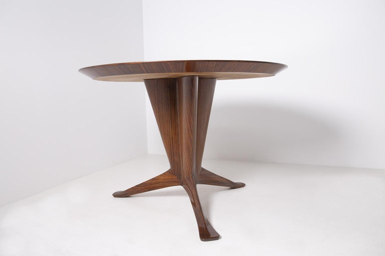 Important Italian Table by Ico Parisi, Unique Piece and Certificate, 1949 4