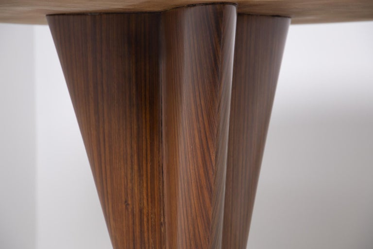 Important Italian Table by Ico Parisi, Unique Piece and Certificate, 1949 5