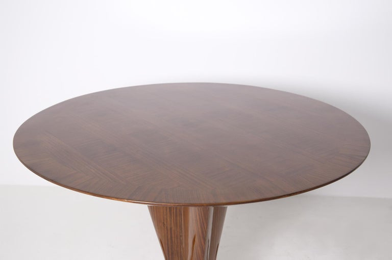 Important Italian Table by Ico Parisi, Unique Piece and Certificate, 1949 6