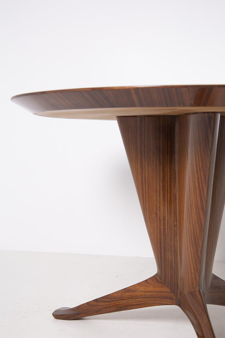 Important Italian Table by Ico Parisi, Unique Piece and Certificate, 1949 8