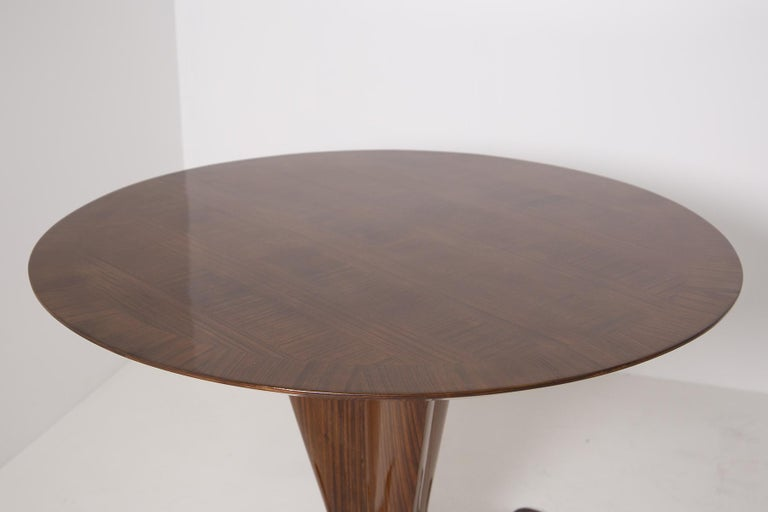 Mid-Century Modern Important Italian Table by Ico Parisi, Unique Piece and Certificate, 1949