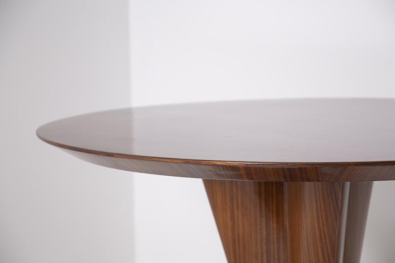 Mid-20th Century Important Italian Table by Ico Parisi, Unique Piece and Certificate, 1949