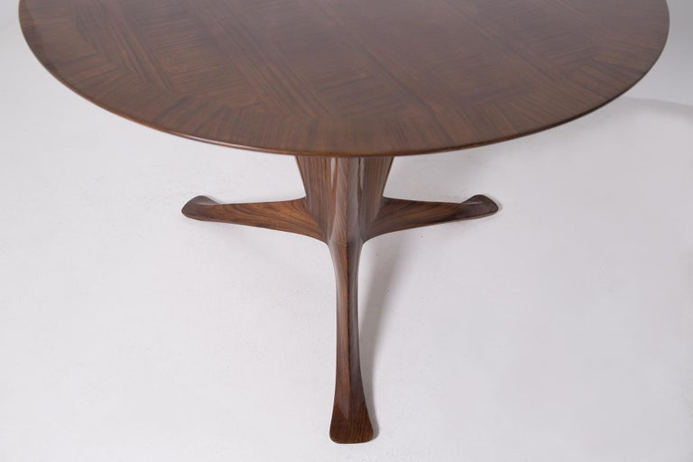 Important Italian Table by Ico Parisi, Unique Piece and Certificate, 1949 2