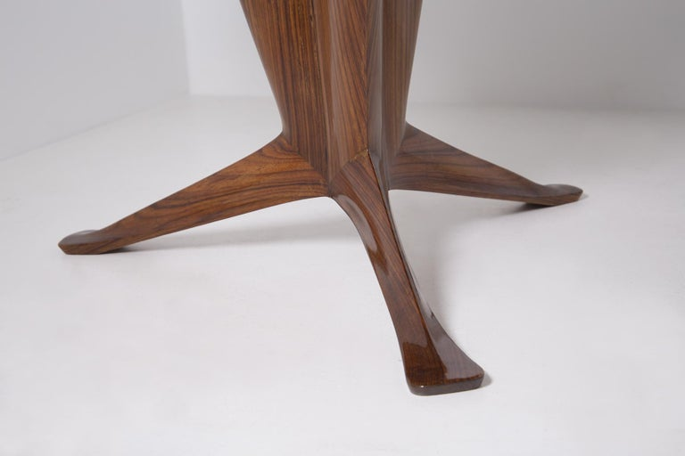 Important Italian Table by Ico Parisi, Unique Piece and Certificate, 1949 3