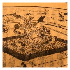 Important Japan Samurai Antique Woodblock Complete Book Set, 132 Prints, 1857