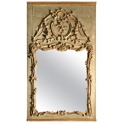 Important Louis XV Woodwork Trumeau