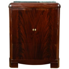 Important Mahogany Cabinet, by Sue et Mare