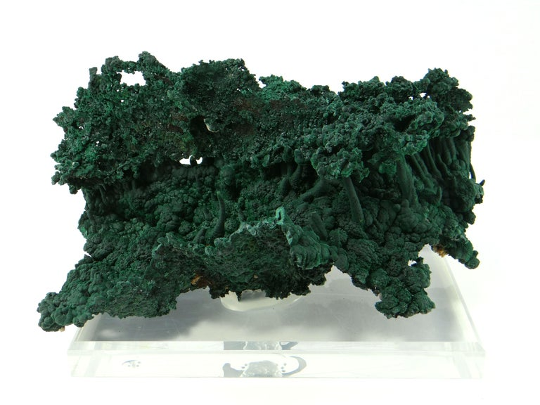 Other Important Malachite Stalactite from Congo, 1990 For Sale