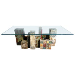 Important Midcentury Coffee Table by Paul Evans