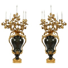 Important Pair of Candelabra Attributed to Maison Millet