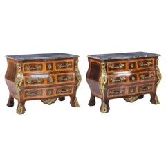 Important Pair of French Dressers, 19th Century