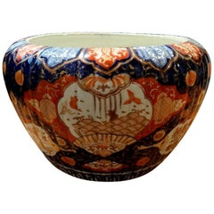 Important Porcelain Pot of Japan Imari Decoration Late 19th Century