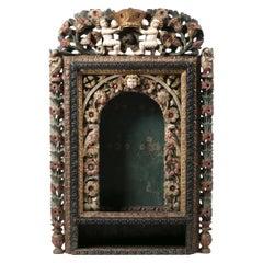 Important Portuguese Oratory Cabinet, 17th Century