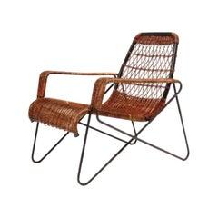 "Important Raoul Guys ""Antony"" Lounge Chair for 'Cite' University, Paris, 1954"