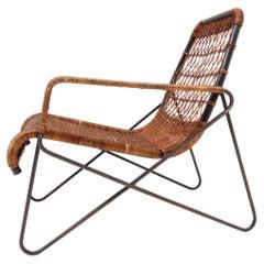 "Important Raoul Guys ""Antony"" Lounge Chairs, Cite University, Paris, 1954"