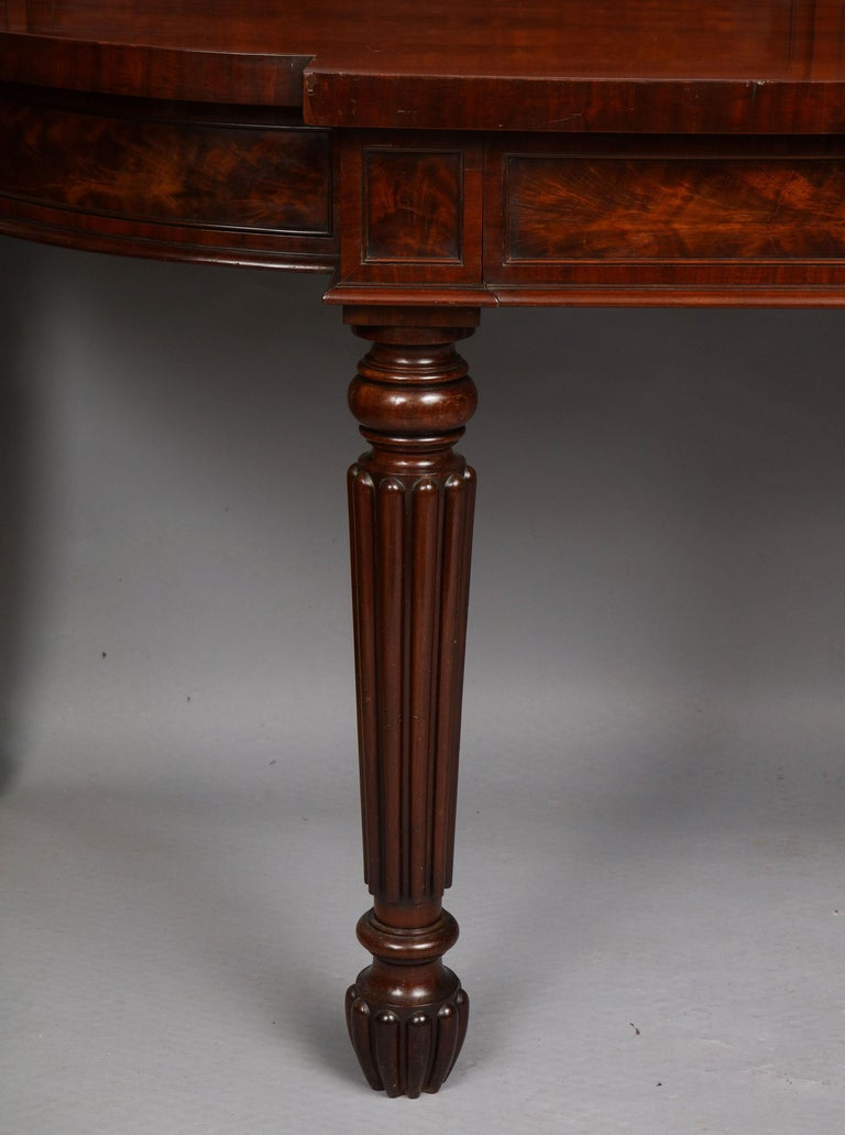 English Important Serving Table by Gillows For Sale