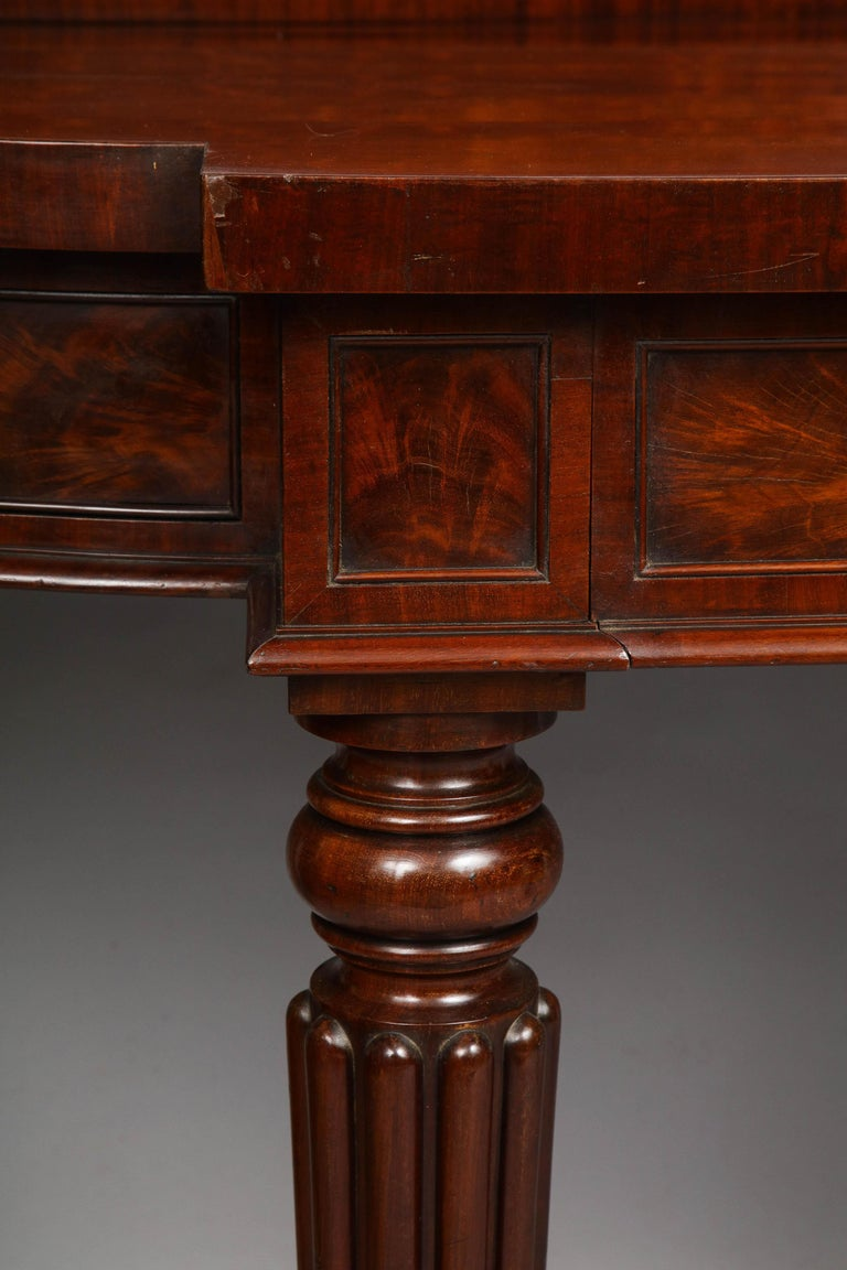19th Century Important Serving Table by Gillows For Sale