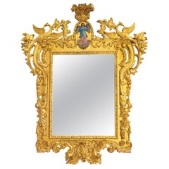 Important Spanish Baroque Mirror circa 1740 18th Century