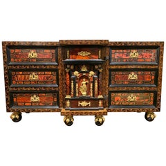 "Important Spanish/Flemish ""Bargueño"" Cabinet, 17th Century"