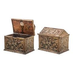 Important Spanish Safe Box, 14th-15th Century