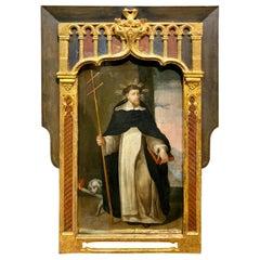 "Important Spanish Table, 16th Century ""Saint"""