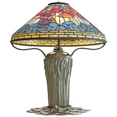 "Important Tiffany Studios ""Poppy"" Table Lamp"
