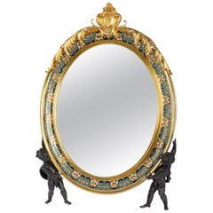 Important Toiletry Mirror from the 19th Century, Napoleon III