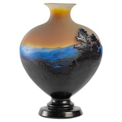 Important Vase by Gallé, 1900